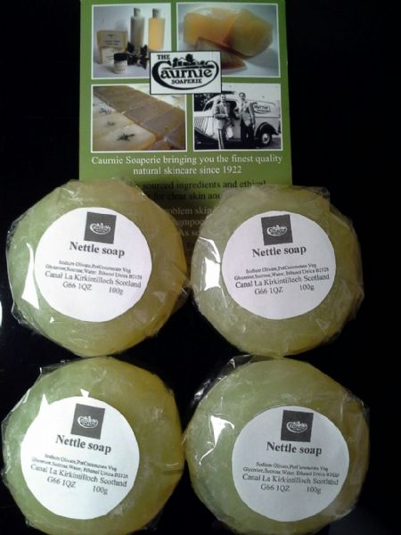 Caurnie Nettle Soap 100gx4=400g (Free Delivery)